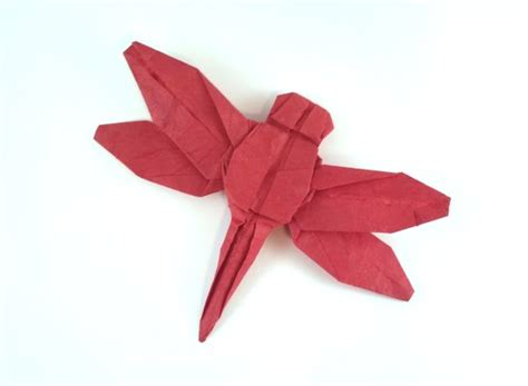 Fly Origami - fly origami dragonfly robert j lang gilads origami