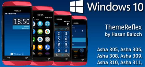 nokia asha love themes windows 10 theme for nokia asha 305 asha 306 asha 308
