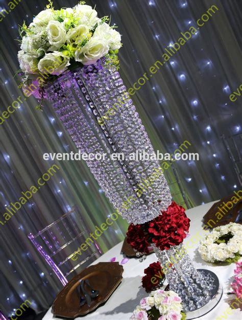 wedding decoration crystal centerpieces wholesale table