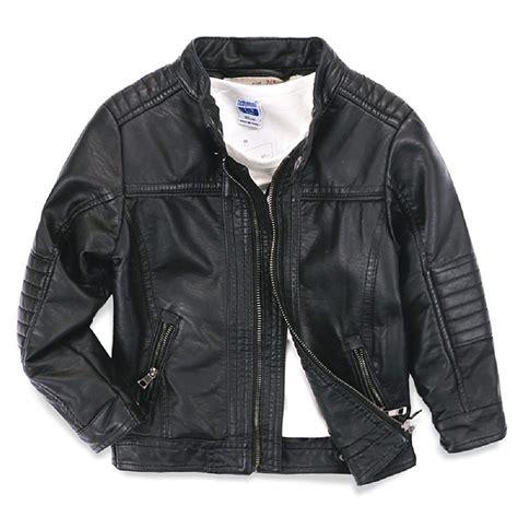 Jaket Boy boys leather jacket outdoor jacket