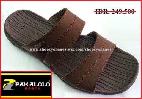 Sandal Kulit Gats Or 611 Brown sandal shoes