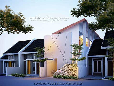 desain kamar kos rumah tangga desain rumah kos di lahan memanjang 5x20m sembilanstudio