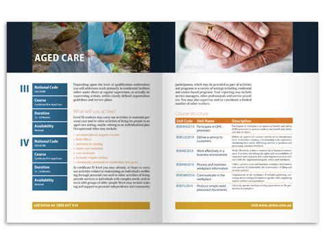 leaflet design courses 36 elegant serious education brochure designs for a