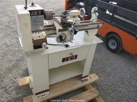 bench lathe for sale jet bench lathe west auctions auction trucks trailers backhoe