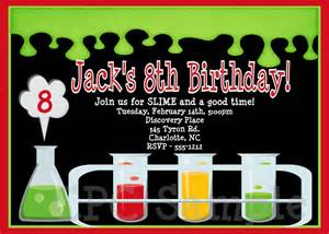 mad scientist birthday invitation mad by cutiestiedyeboutique