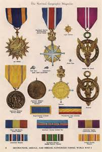 Military Decorations Decorations Medals Amp Ribbons Authorized During World War