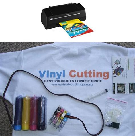 Printer Epson Untuk Transfer Paper ciss with epson t20 printer sheets of transfer paper vinyl cutting