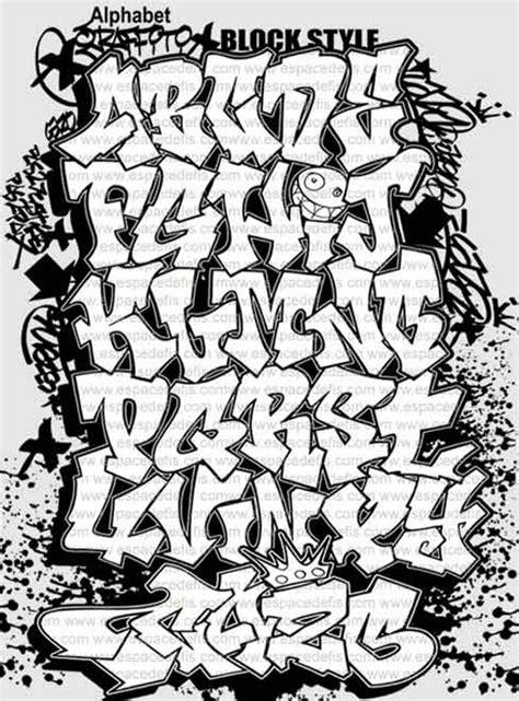 immagini lettere alfabeto graffiti 1 contemporary artist