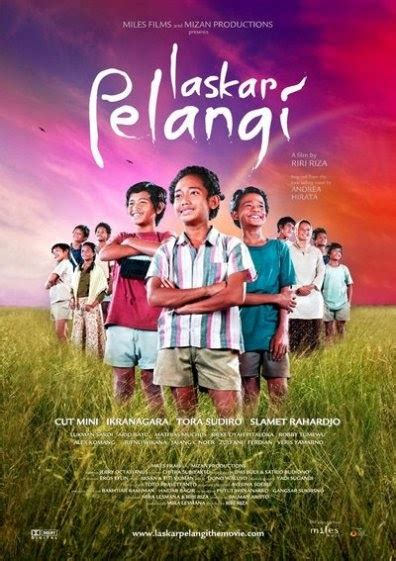 film laskar pelangi full poster laskar pelangi the movie laskar pelangi the movie