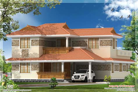 kerala home design villa 4 bedroom kerala villa elevation house design plans