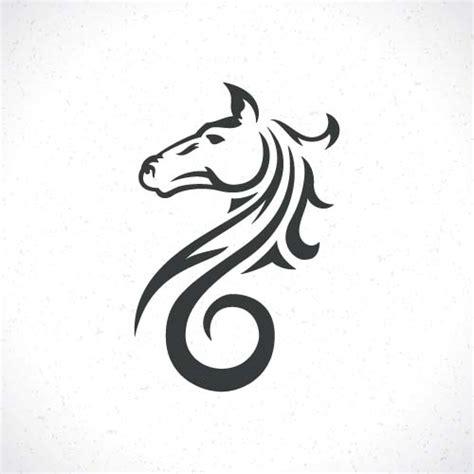 vector set of horse logos design 04 vector animal