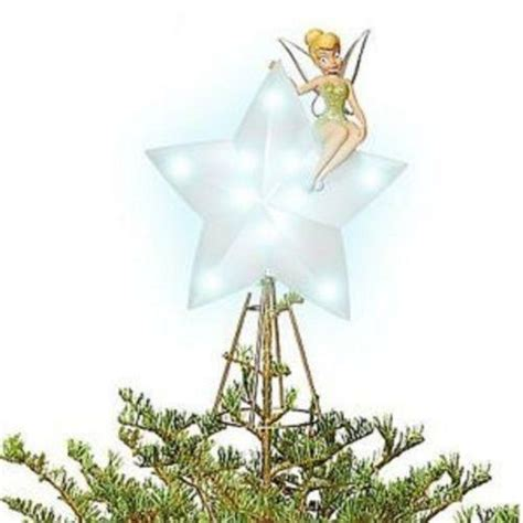disney tree toppers for christmas trees tinkerbell tree topper ebay