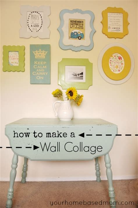 how to make a picture wall collage how to make a picture frame collage images