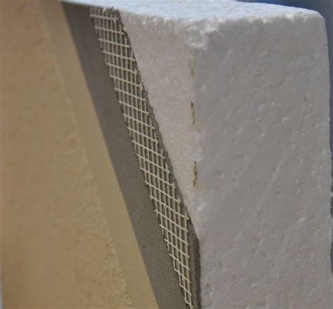 anchoring foamboard to concrete wall rendered foam walls a new house