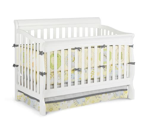 Delta Children Venetian Sleigh 4 In 1 Crib White Baby Baby Sleigh Cribs