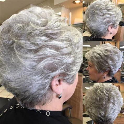 back views of gray hair styles 90 classy and simple short hairstyles for women over 50