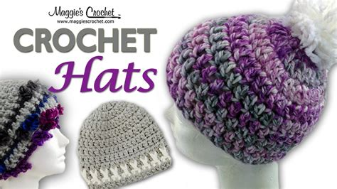 crochet pattern free video serenity pompom hat free crochet pattern right handed