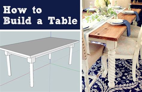 how to build a table how to build a dining room table hometalk