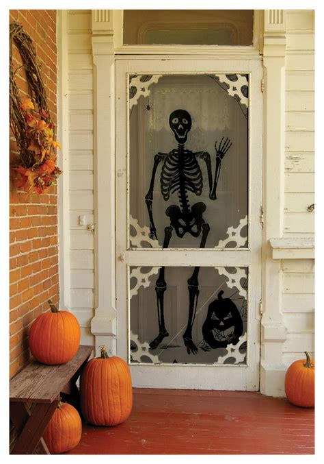 scary home decor scary front porch decoration ideas for halloween home