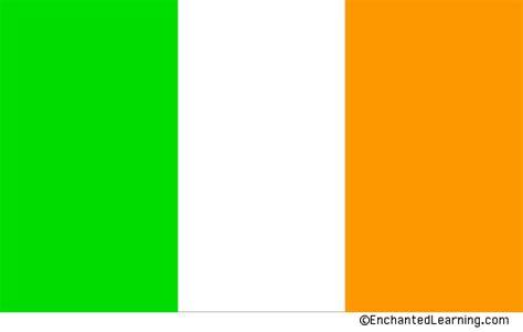 ireland colors ireland s flag enchantedlearning