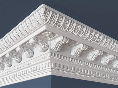 9 Moulding 3d carved decorative crown molding 3d model cgtrader