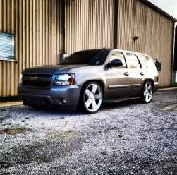 chevy tahoe lowered low