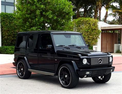 mercedes g wagon blacked out if i decided on a suv as my next vehicle this will be the