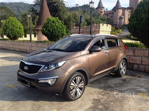 kia sportage suv 2014 kia sportage 2014 2 0 in selangor automatic suv brown for