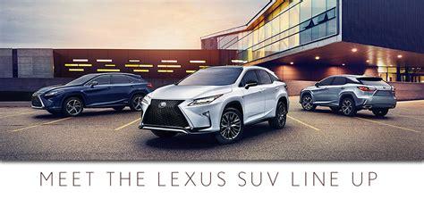 Lexus Suv Lineup by New Lexus Suv Lineup Lexus Suvs For Sale In San Antonio Tx