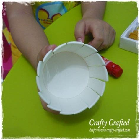 Paper Cup Craft - crafty crafted 187 archive crafts for children