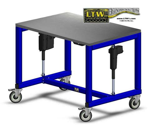 adjustable height work table e2 table height adjustable industrial table ltw