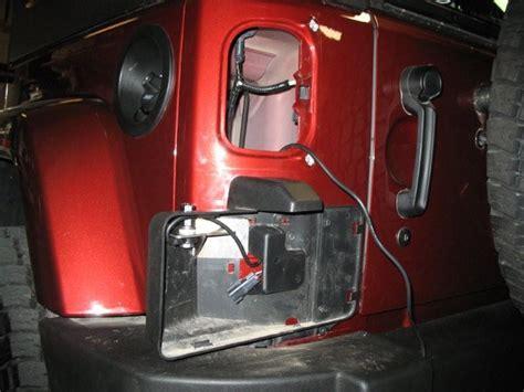 Jeep Jk Cb Antenna Mount Cooltech Wrangler Jk Cb Antenna Mount Jeepfan