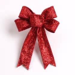 23cm large red christmas bow for christmas gifts and