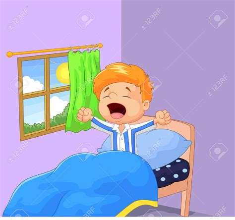 The Boy Who Woke morning clipart wakeup pencil and in color morning