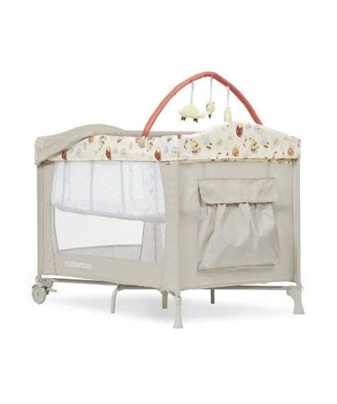 cuna mothercare mothercare de cuna viaje basinette con barra de juegos
