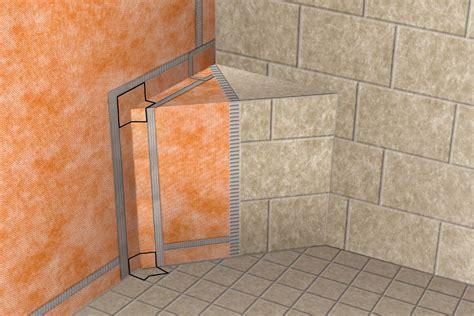schluter kerdi kereck  kers  waterproofing shower