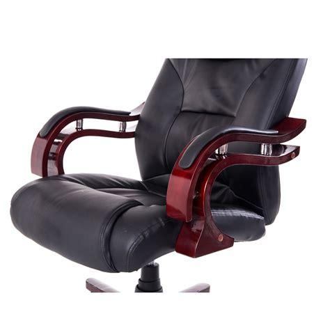 homcom chaise de bureau de luxe fauteuil pivotante