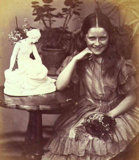 White Sally Lik lewis carroll photography and biography