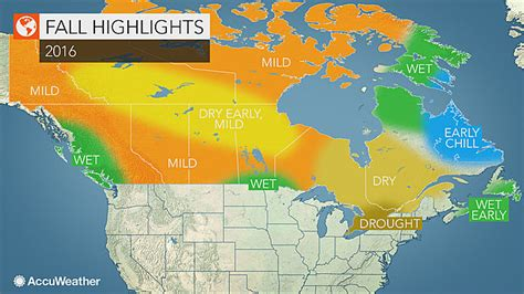 canada foliage map 2016 canada fall forecast drought to limit intensity of