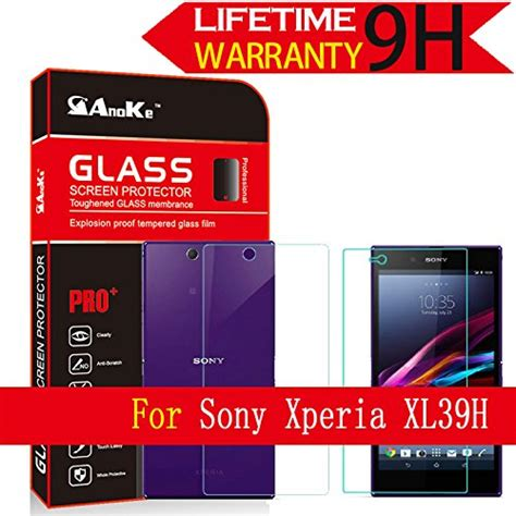 Tempered Glass Sony Experia Z Ultra C6802 Screen Protector Antigores xperia z ultra glass screen protector c6833 c6802 c6806