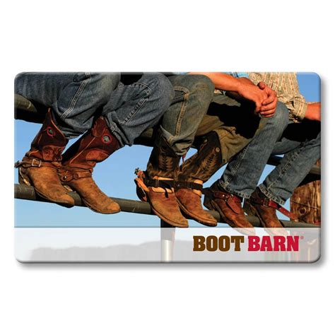 Boot Barn Gift Card - boot barn 174 gift card boot barn