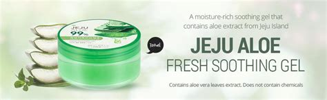 Jeju Fresh Aloe Vera Soothing Gel 300 Ml the faceshop jeju aloe fresh soothing gel 300ml