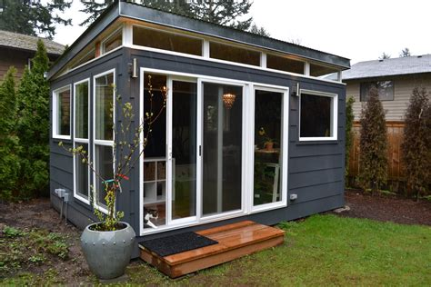 she shed office home office the original modern shed