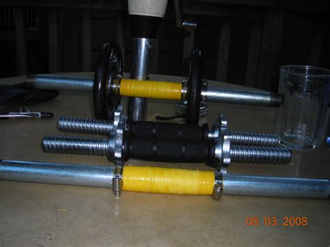 on my home made dumbells vs walmart compare