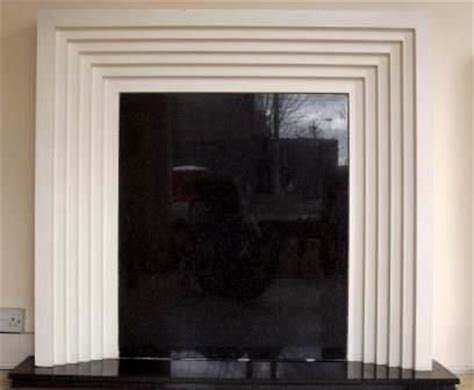 Plaster Cast Fireplace Surround by New Deco Stepped Plaster Surround Fireplaces