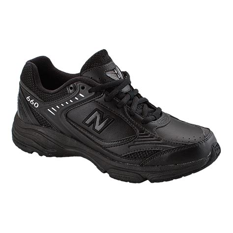 new balance s 660 d wide width walking shoes black
