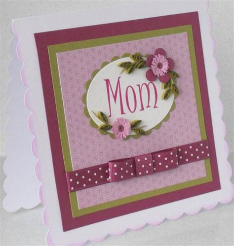 Handcrafted Cards Ideas - mothers day handmade greeting cards and gift ideas