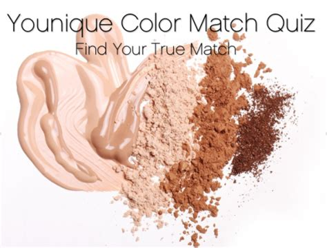 how to find your foundation color younique color match quiz find your shade of touch