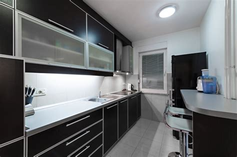 Small Kitchen Black Cabinets 52 Kitchens With Wood And Black Kitchen Cabinets