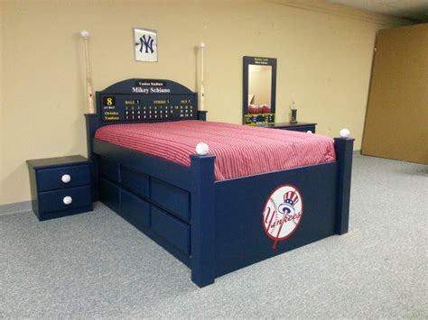 baseball bed yankees baseball bed custom by chris davis